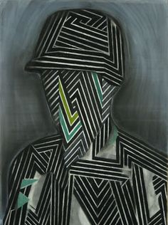 Bas Louter  Untitled, 2011  charcoal, ink, gouache and pastel on paper  95 x 150 cm