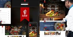 cool Kebab - Speedy Meals WordPress Theme (Restaurants &amp Cafes)
