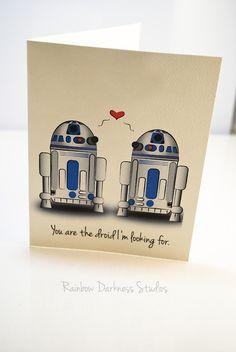 Star wars valentines day card- buy one get one free! valentines-day-gifts-f Diy Gifts For Him, Diy Gifts For Boyfriend, Birthday Gifts For Boyfriend, Valentines Day Gifts For Him, Cute Gifts, Candy Hearts, Golden Doodle, Star Wars Droids, Valentine's Day
