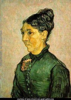 mme-trabuc - Vincent Van Gogh Reproduction