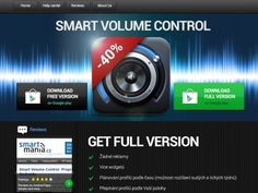 Smart Volume Control - product page by Petr | Direct-services