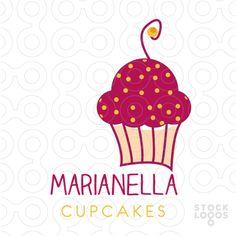 Staff Favorite | Marianella Cupcakes http://stocklogos.com/logo/marianella-cupcakes