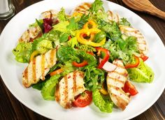Substantial Savory Salads: How to Make a Salad a 'Meal' Savory Salads, Healthy Salads, Healthy Eating, Crab Pasta Recipes, Meat Recipes, Calorie Dense Foods, Main Dish Salads, Safe Food, Meal Planning
