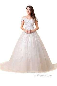 http://www.ikmdresses.com/Cap-Sleeve-Chapel-Train-Bridal-Gowns-Wedding-Dresses-p88039
