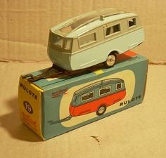 Model caravan trailers, from bennyinkwell