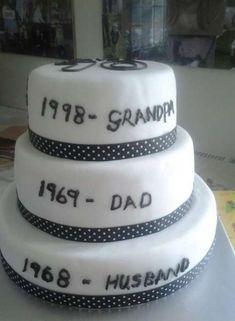 39 trendy ideas for birthday cake for men dads homemade #cake #birthday