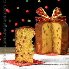 My pans and pots: Panettone