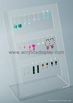 Earring Displays - 12 pair earring stand: all types of earrings : earring displays display Jewelry Display Stands, Pop Display, Ring Displays, Earring Display, Display Case, Jewellery Displays, Watch Display, Jewellery Storage, Jewelry Organization