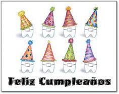 Tarjeta de cumpleaños para dentistas