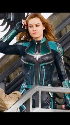 """""""New stills of Brie Larson as Carol Danvers aka Captain Marvel """" Ms Marvel, Marvel Girls, Marvel Dc Comics, Marvel Heroes, Marvel Avengers, Marvel Actors, Marvel Characters, Marvel Movies, Comic Movies"""