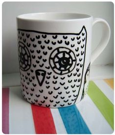 An owl coffee mug would make my morning coffee even more delicious.