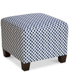 Skyline Furniture Ottoman in Sahara Midnight White Flax Space Furniture, Home Decor Furniture, Outdoor Furniture, Pharmacy Design, Den Ideas, Ottoman In Living Room, Single Chair, Mattress Brands, Baby Clothes Shops