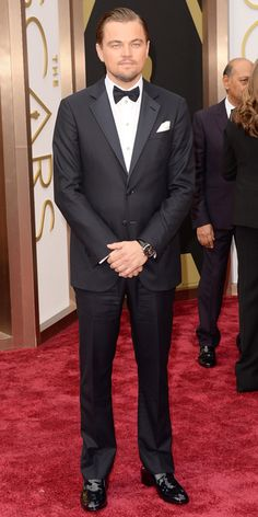 Oscars 2014 Red Carpet Arrivals - Leonardo DiCaprio from #InStyle
