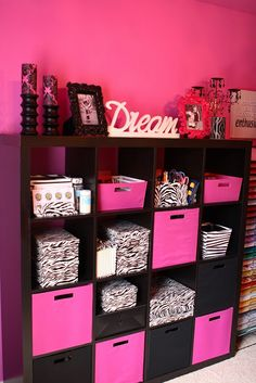 My Craft Room Before After A To Zebra Celebrations Pink Diy