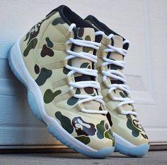 finest selection d11dc d1a9c Bape Sneakers, Air Jordan Sneakers, Nike Air Jordans, Bape Shoes, Jordans  Sneakers