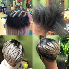 Short sewin weave weave hairstyles curly in 2019 coif Short Weave Hairstyles, African Braids Hairstyles, Pixie Hairstyles, Black Hairstyles, Wedding Hairstyles, Curly Hair Styles, Natural Hair Styles, Pelo Afro, My Hairstyle