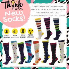aca09d4b10 9 Best Cute Compression Socks images | Fashion socks, Socks, Stockings
