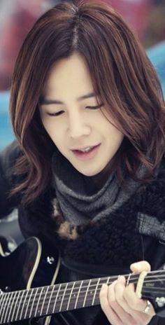 Jang Geun Suk, Lee Jong Suk, Pretty Men, Pretty Boys, Marry Me Mary, Asian Men Long Hair, Long Messy Hair, Kdrama, Kang Min Hyuk