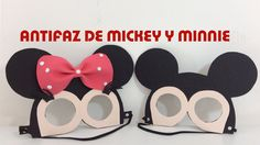 IDEAS PARA FIESTAS INFANTILES DE MINNIE Y MICKEY MOUSE. ANTIFAZ