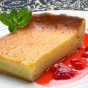 Receta de Pastel de queso con jarabe de frutos rojos - Eva Arguiñano