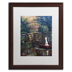 The Trysting Place by Lowell S.V. Devin Matted Framed Painting Print