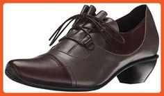 Fidji Women's V330 Oxford, Chocolate Grey, 38.5 EU/8.5 M US - Oxfords for women (*Amazon Partner-Link)