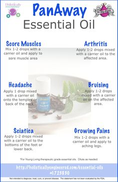 Ways to Use PanAway Essential Oil