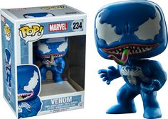 Spider-Man - Blue Venom (New Pose) Funko Pop! Vinyl Figure | Popcultcha