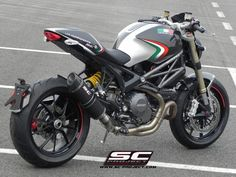 Ducati Monster SC Projects