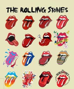 The Rolling Stones Rolling Stones Album Covers, Rolling Stones Albums, Rolling Stones Logo, Stone Wallpaper, Retro Wallpaper, Bedroom Wall Collage, Photo Wall Collage, Band Wallpapers, Cute Wallpapers