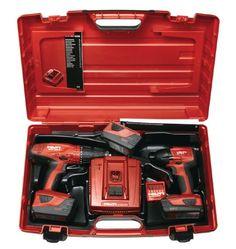 Batteridrivna kit med två verktyg