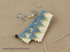 peyote nieparzysty - koralikowa obrączka Diy Arts And Crafts, Jar Crafts, Peyote Patterns, Beading Patterns, Beaded Rings, Beaded Bracelets, Tutorial Anillo, Jewelry Crafts, Handmade Jewelry