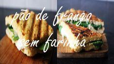 184. Pão De Frango SEM Farinha | Healthy Flourless Bread
