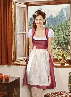 Dirndl by Fräulein Trentini, Trentini Couture, yes, this is what I shall wear to accomplish daily chores...