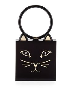 Meow! A lot of sass packed in to this small clutch.