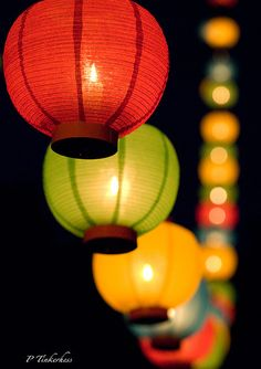 These lanterns hit me for some reason. Summer nights. Backyards. Dinner parties with martinis and lightning bugs.