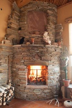 Stone Hearths for Wood Stoves | Fireplaces: The Hearth of the Home