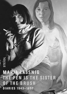 Maria Lassnig: The Pen is the Sister of the Brush: Diaries 1943-1997 by Hans Ulrich Obrist, http://www.amazon.co.uk/dp/3865217397/ref=cm_sw_r_pi_dp_n4O9sb0QMH8S1