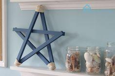 Remodelando la Casa: Patriotic Wooden Stars