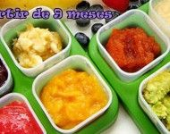 14 Baby Puree Recipes to Make at Home Fruit Puree, Toddler Meals, Kids Meals, Toddler Food, Baby Food For Constipation, Zinc Rich Foods, Breastfeeding Nutrition, Baby Food Storage