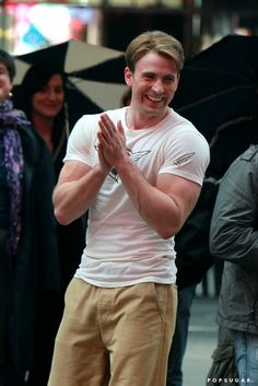After this day with Chris Evans, that shirt was changed forever.