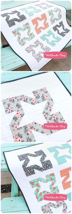 "Melon Blossom Quilt Kit Featuring Sweet Marion by April Rosenthal. Sweet and juicy. Quilt kit includes the Melon Blossom Quilt Pattern by It's Sew Emma and Sweet Marion fabric for the 39.5"" x 39.5"" quilt top and binding. Affiliate link. If you make a purchase I may receive a commission. This does not effect your pricing."