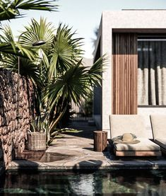 Architectural Visualizations for the new Casa Cook Hotel in Chania . Design Patio, Exterior Design, Interior And Exterior, Casa Cook Hotel, Future House, My House, Outdoor Spaces, Outdoor Living, Indoor Outdoor