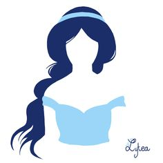 Jasmine silhouette by Lytea on deviantART