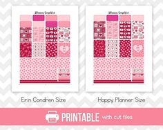 50% OFF Printable Planner Stickers от PlanningSimplified на Etsy