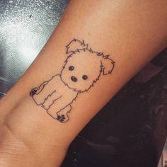 Tatuajes perros - tattoos tattoos, dog tattoos и small d Mini Tattoos, Dog Tattoos, Animal Tattoos, Tatoos, Small Quote Tattoos, Tattoos For Women Small, Tattoo Perro, Husky Tattoo, Dog Memorial Tattoos