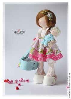 Коллекционные куклы ручной работы. Ярмарка Мастеров - ручная работа Кукла текстильная. Большеногая девочка.. Handmade.