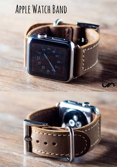 Keep in step with the JooJoobs leather wristband foe the new Apple Watch