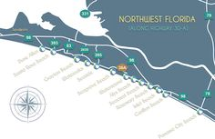 30A Community Map | Beaches of South Walton FL | Scenic 30A FL Travel, Vacation & Real Estate Guide