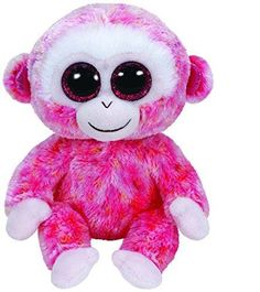 TY Beanie Boos Ruby The Monkey Plush NEW! 2016